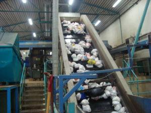 Processamento do lixo